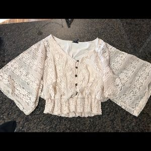 Rue 21 lace top, very cute, gently worn